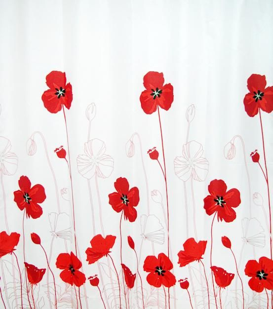 7 best poppies bathroom decor images on Pinterest | Red poppies ...