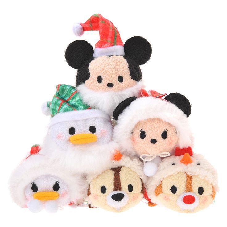 Japan 2015 Christmas Tsum Tsum Mini Set - Front