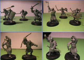 Llama's War of the Ring: Mordor Orc conversions