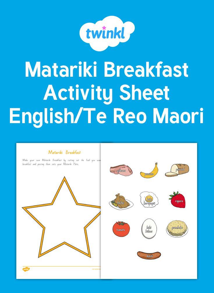 Matariki Breakfast Activity