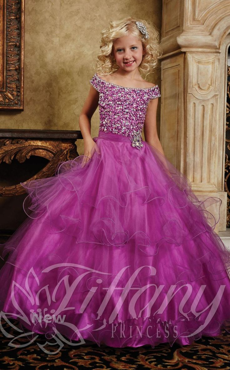 fuschia beading corset princess kids beauty pageant dresses for 12 year olds girls girls pageant dresses-in Flower Girl Dresses from Weddings & Events on Aliexpress.com | Alibaba Group