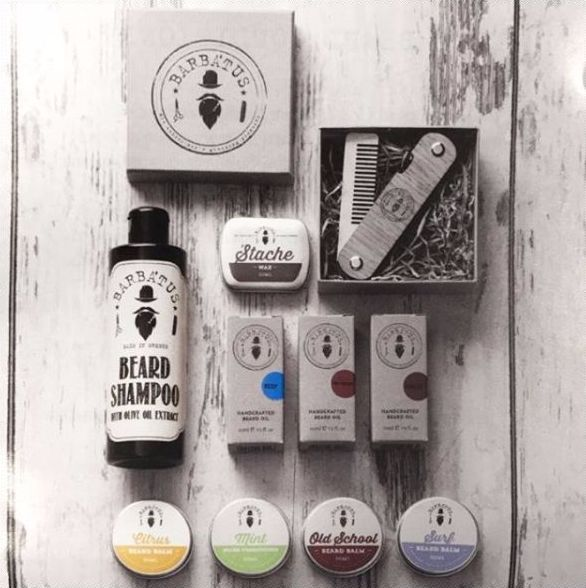 Greek products for high quality care for your beard and mustache !#barbatus #beard #beardproducts #beardcomb #beardoils #beardcare #beardbalm #mustachewax #mustache #beardaddict #beardstyle #beardlifestyle