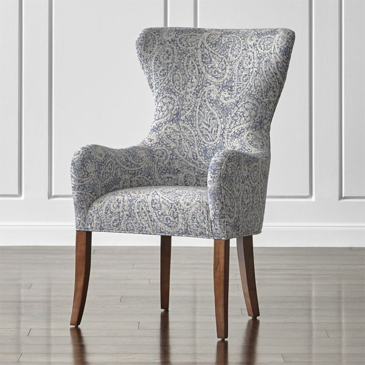 Perfect Galloway Paisley Wingback Dining Chair Great Pictures
