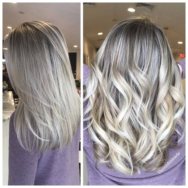 MAKEOVER: Four Sessions To Silver - Hair Color - Modern Salon