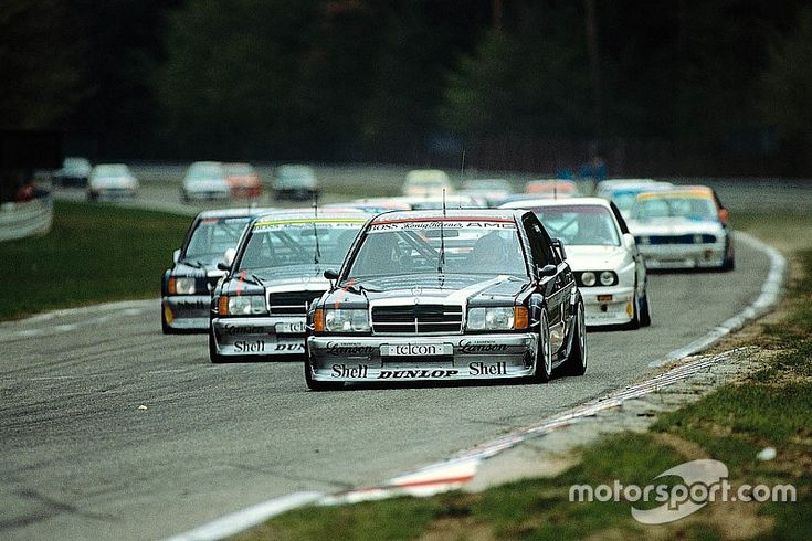 Since 1988 five different Mercedes car models took to the track in DTM. Here we show the evolution of these cars through the years.