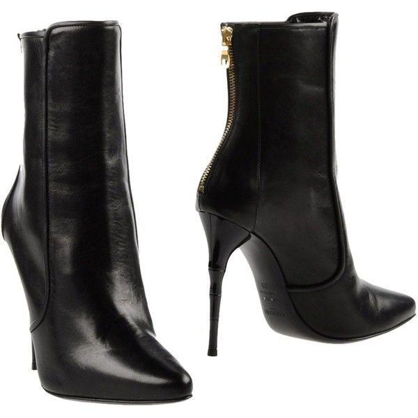 6156f173f2b9 Balmain Ankle Boots ( 760) ❤ liked on Polyvore featuring shoes, boots, ankle
