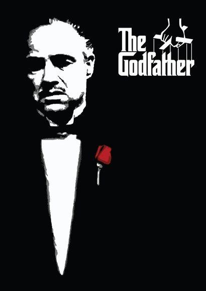 Poster 'O poderoso chefão' com moldura