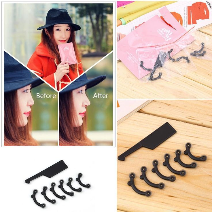 3 Size in 1 Set Nose Up Lifting Shaping Clip Secret Nose Clipper Shaper Beauty Tool No Pain