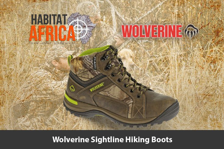 The Wolverine Sightline ladies hiking boots feature a waterproof leather…