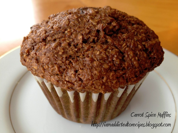 Carrot Spice Muffins | Good Food: Little Miss Muffin | Pinterest