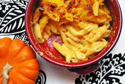 Pumpkin Comfort Food: Pumpkin Macaroni & Cheese | Family Spice