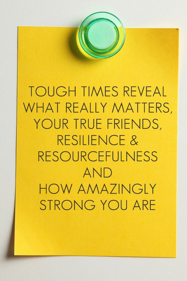 Are you in debt or struggling to meet your regular financial commitments? Tough times teach us just how strong we are. Here's our story of lessons learned through tough times. {SP}