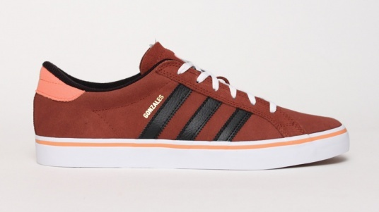 Red Black Mens Low Expenditure Adidas Skateboarding Americana Vlow Skateboard Logo Shoes