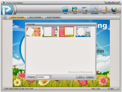 تحميل برنامج تصميم كروت المناسبات المجاني Photo Card Maker 1.0.4