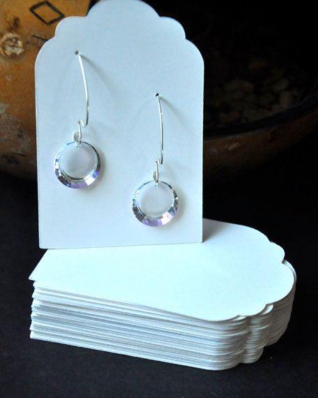 Earring Card Jewelry Display Tags