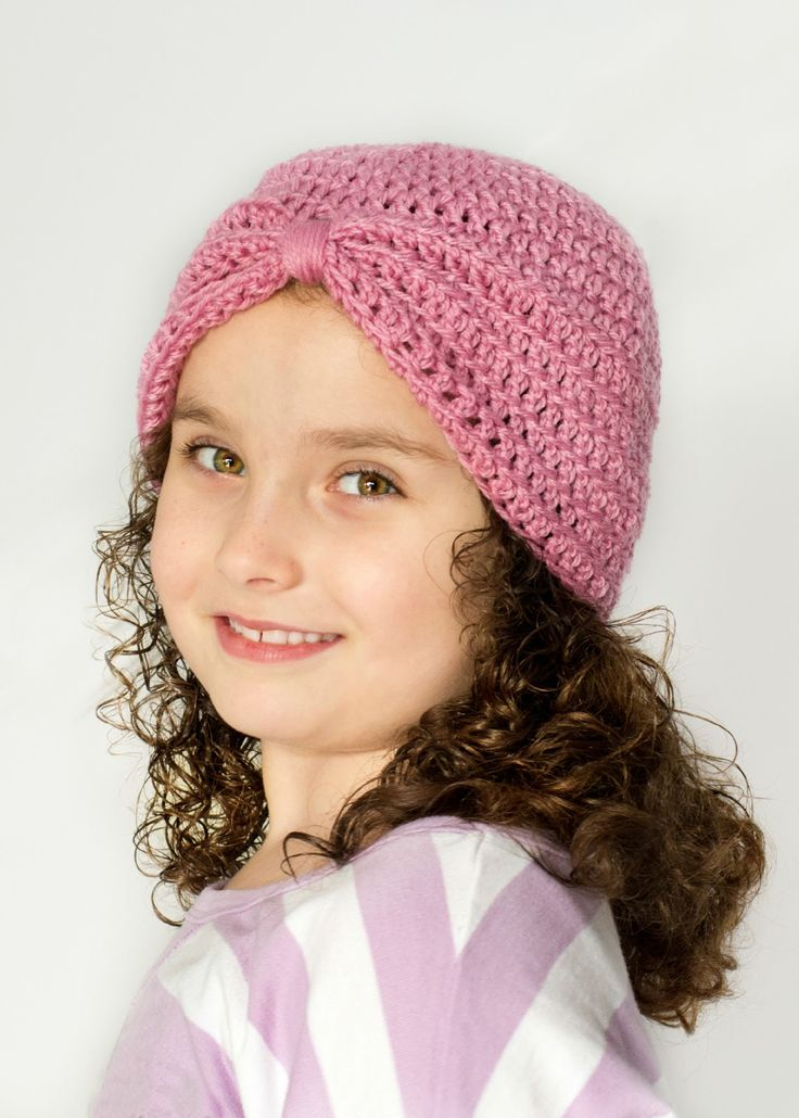 """Turban"" hat Crochet Pattern (NOT TUTORIAL) via Hopeful Honey (**i used ~85g wool roving for Sarah's)"