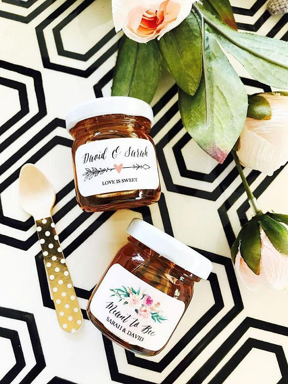 Meant To Be Honey Wedding Favors For Guests Favorsforwedding