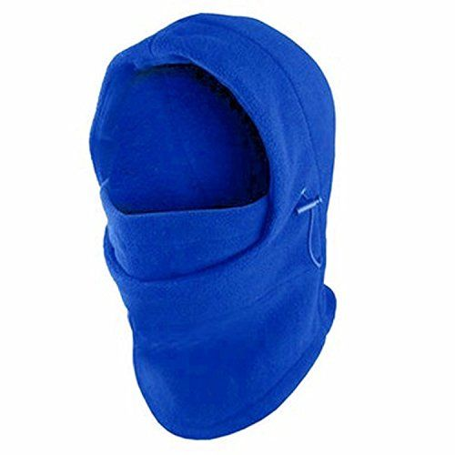 Fleece Windproof Ski Face Mask Balaclavas Hood by Super Z Outlet (Blue)One Size