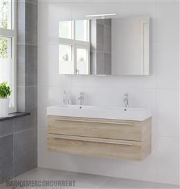 Bruynzeel Bando badmeubelset met spiegelkast BHP010055