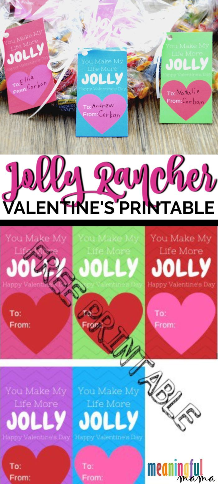 Jolly Rancher Valentine Printable Valentines Printables Valentines Day Funny Valentine Jokes