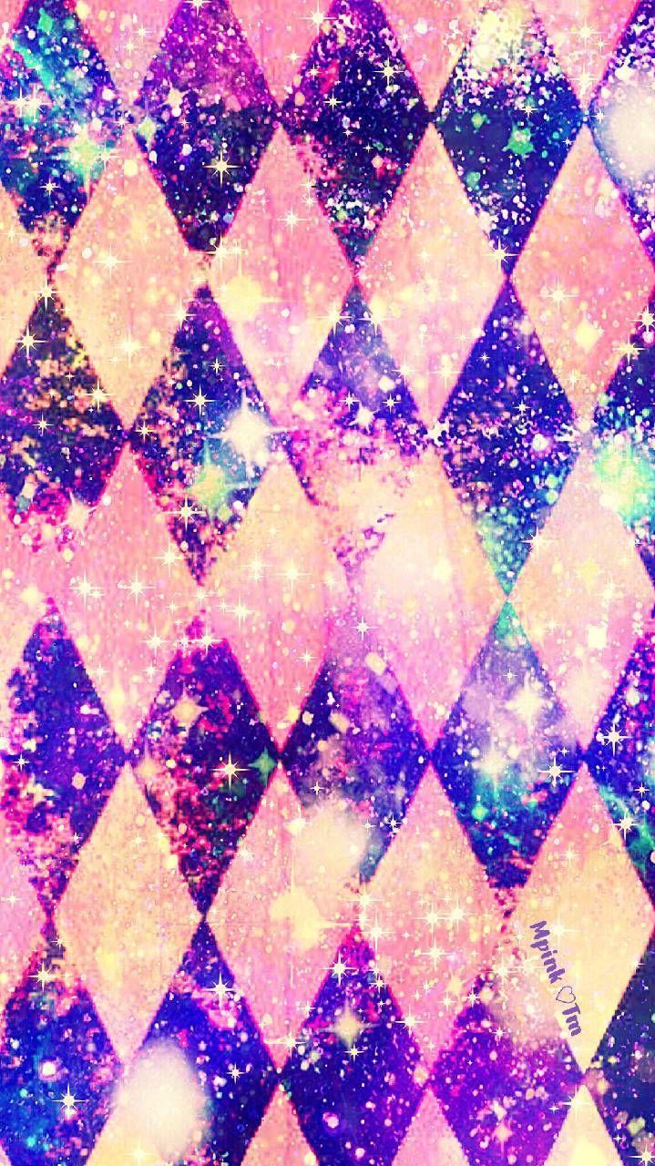 Vintage Diamonds Galaxy Wallpaper Androidwallpaper Iphonewallpaper Wallpaper Galaxy Sparkle Glitter Pretty Wallpapers Galaxy Wallpaper Pattern Wallpaper