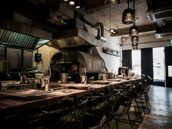 39 best restaurants images on pinterest kitchen bay for Garcons restaurant singapore