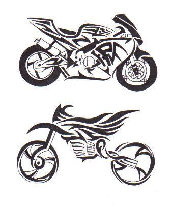 tribal bike colour 336 407 tatoo pinterest ideas motorbikes and bikes. Black Bedroom Furniture Sets. Home Design Ideas