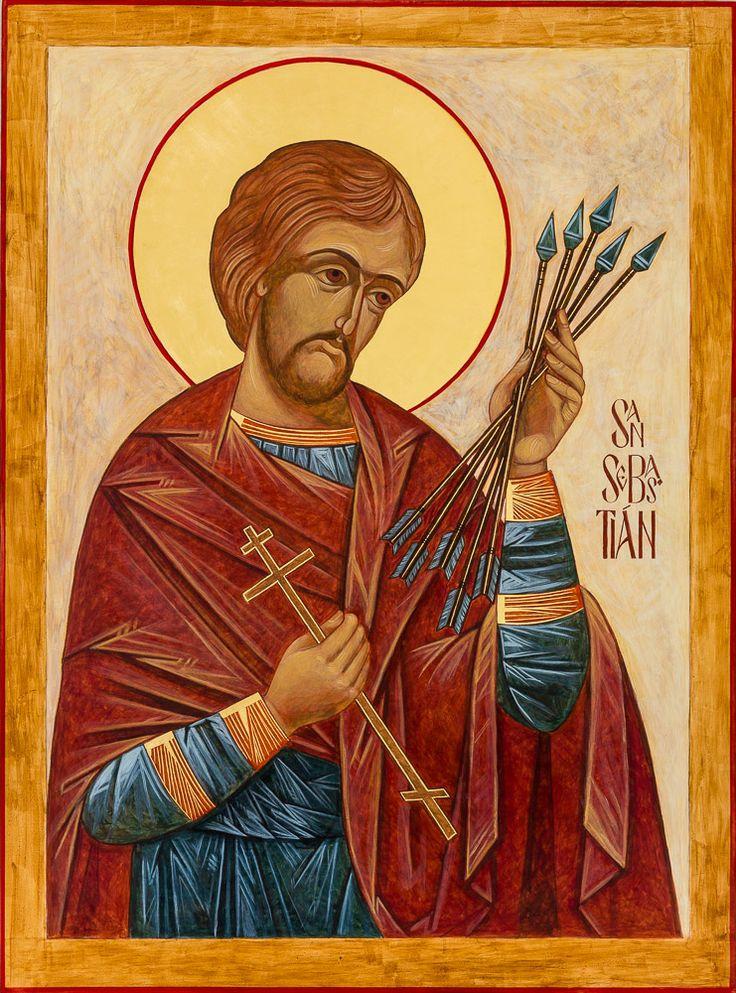 St. Sebastian, Through the hand of Kathy Sievers, Our Lady of the Lake Parish, Seattle, WA
