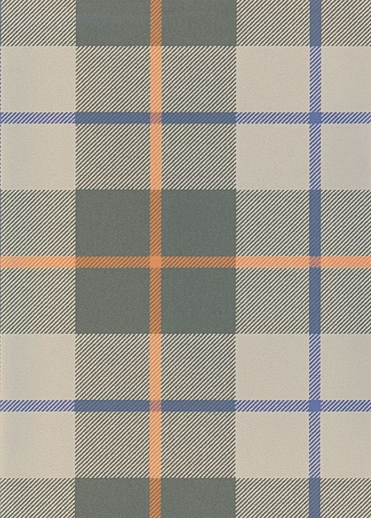 Ranold Wallpaper Tartan Wallpaper In Khaki And Light