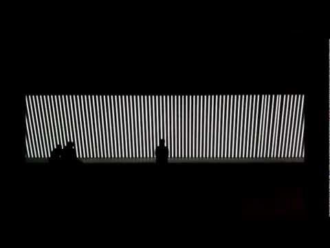 unidisplay an installation measuring about 40 metres in length combines the most important elements of nicolais work the ability to make sound