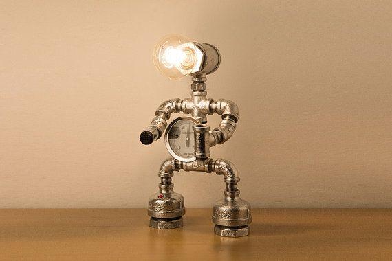 Pipestory Pipe Lamp Iron Pipe Lamp Industrial Lamp