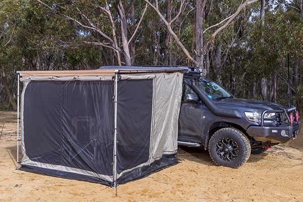 Once You Arrive At A Destination The Arb Awning Deploys And The Awning Room Easily Attaches To The Awning S Structure The Exterior Walls And Fro Adventure 4x4
