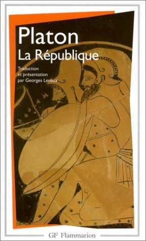 La République de Platon http://www.amazon.ca/gp/product/2080706535?ie=UTF8&camp=213741&creative=393237&creativeASIN=2080706535&linkCode=shr&tag=bernierarcand-20&qid=1383250235&sr=8-1&keywords=La+R%C3%A9publique+platon