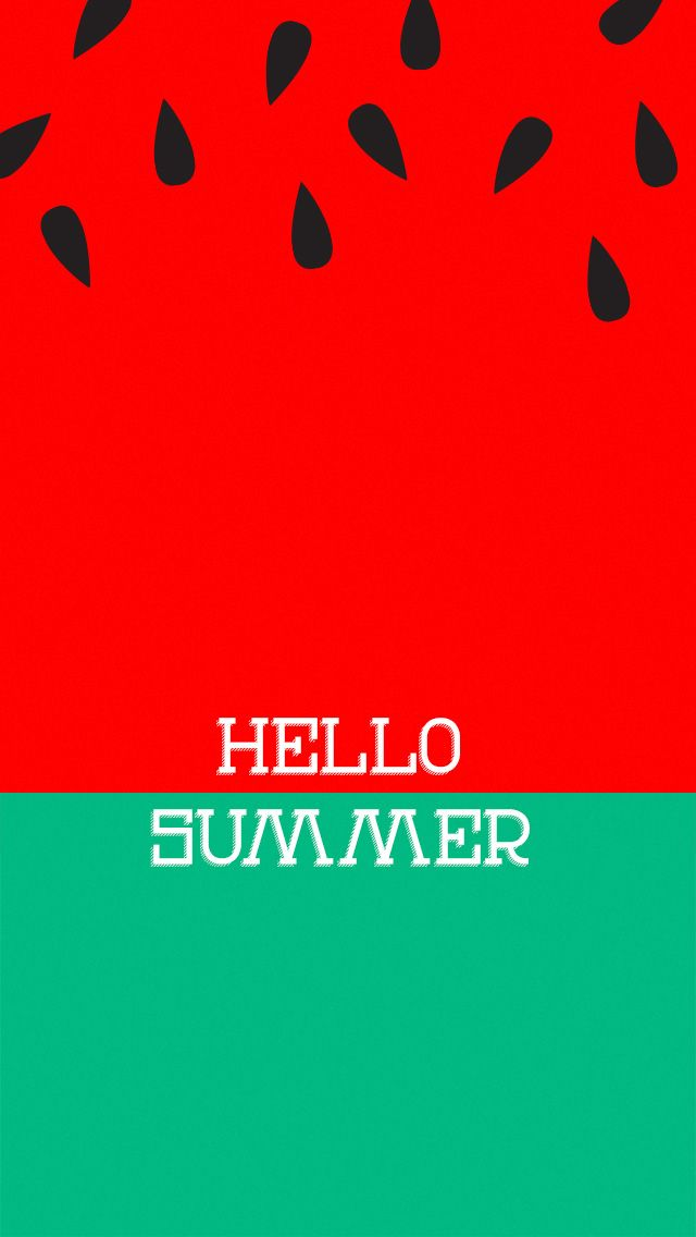 Hello Summer - Tap to see more wallpaper for summer to brighten up your phone! - @mobile9