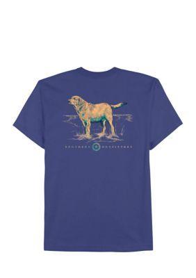 Saddlebred Men's Pathfinder Screen Print Tee Shirt - Jade Dome - 3Xlt