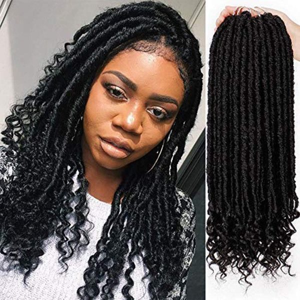45+ Goddess locs with curls trends
