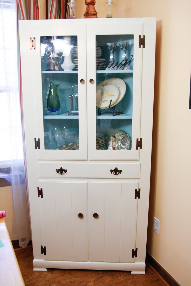 Should I repaint my hutch from black to white?  Decisions, decisions.