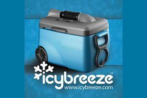 Oh, I need this for the camper!  IcyBreeze Introduces Eco-Friendly Air Conditioning Coolers
