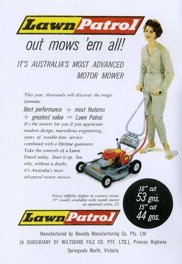 136 Best Vintage Lawn Mowers Images On Pinterest Washing