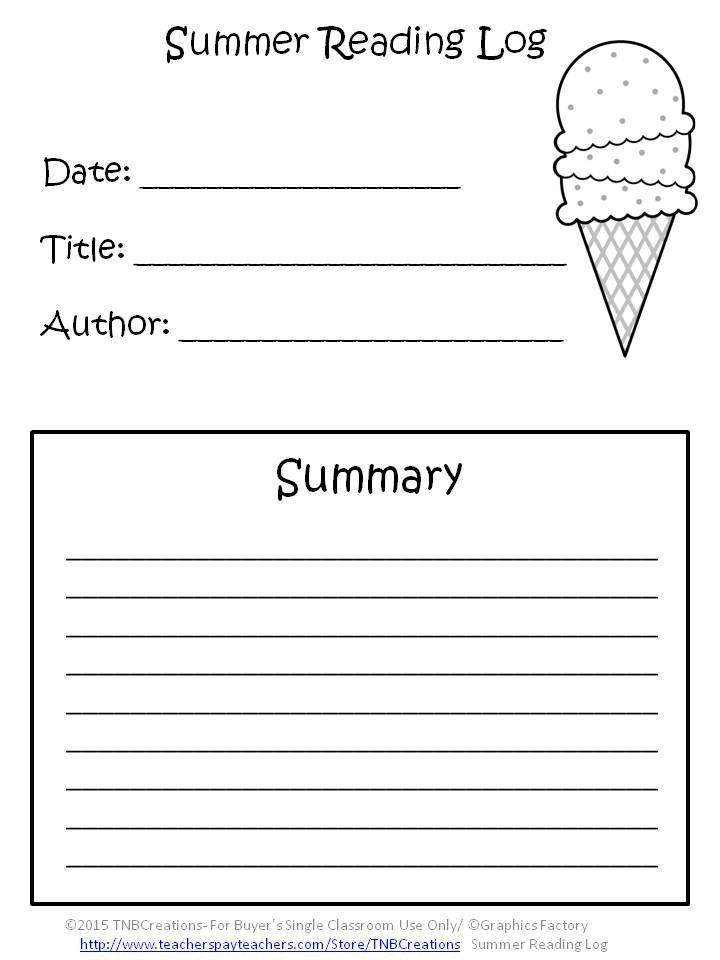 Book Reading Worksheets : Summer packets here is a fun way for students to keep