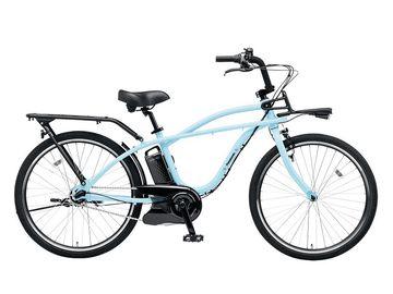 パナソニック サイクルテックは、ビームスとコラボした電動アシスト自転車「BP02 BE-ELZC63」を12月上旬に発売する。価格は13万1,000円(税抜)。