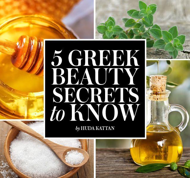 5 Greek Beauty Secrets, Every Girl Should Try!