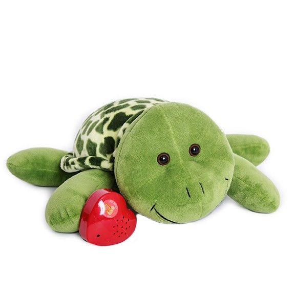 Capture the sound of your baby's heartbeat in an adorable stuffed turtle.