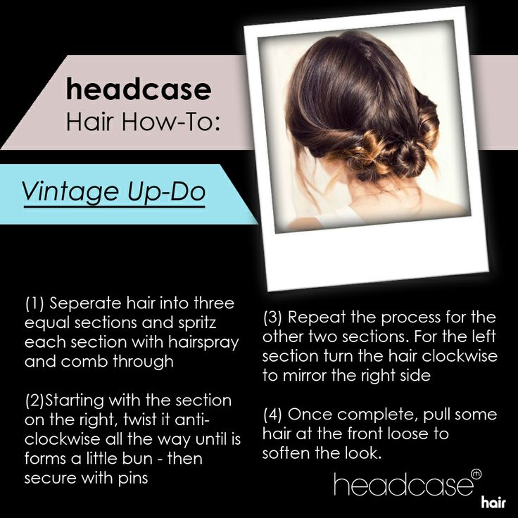 A step by step guide to creating a girly vintage up do for your next wedding or formal event. #headcase #hairtutorial #hairguide