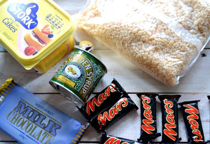 Mars Bar Rice Crispy Cake Recipe   UK Lifestyle and Beauty Blog