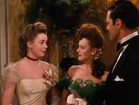 A look back at the days of balls and DANCE CARDS... Here is part of the wonderful Christmas dance scene from movie 'Meet Me In St. Louis' with Judy Garland, June Lockhart, and Lucille Bremmer.