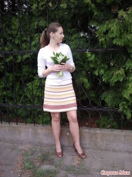 Очень уж мне понравилось вязать платья Капри Ванессы Монторо. Первое платье можно посмотреть тут http://www.stranamam.ru/  Второе тут http://www.stranamam.ru/
