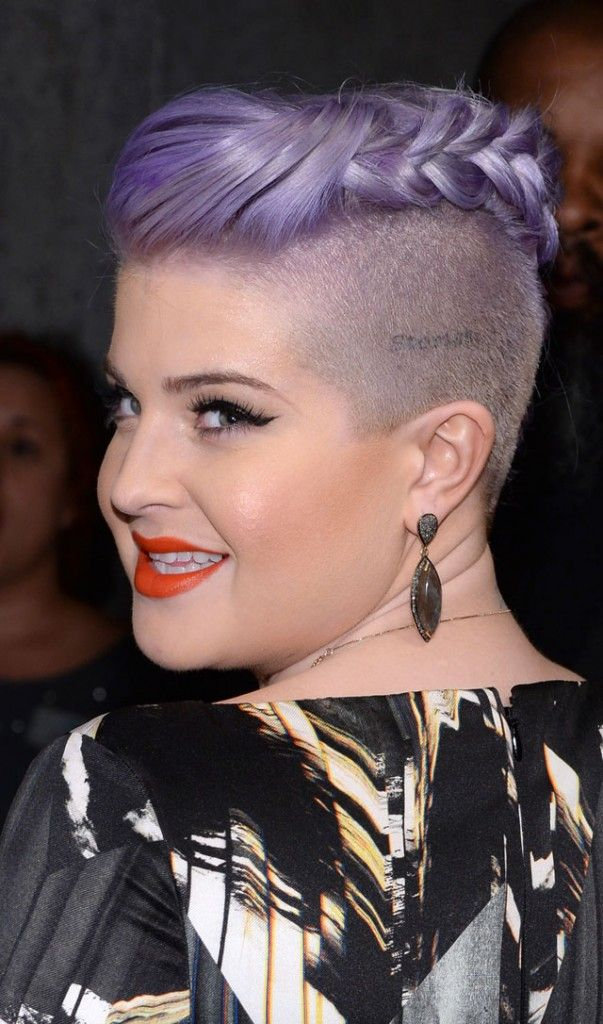 Braid Hairstyles Kelly Osbourne Braided Mohawk Hair
