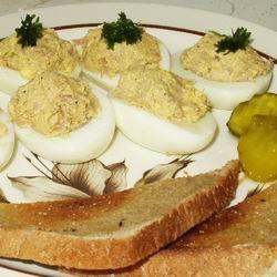 Spanyol töltött tojás