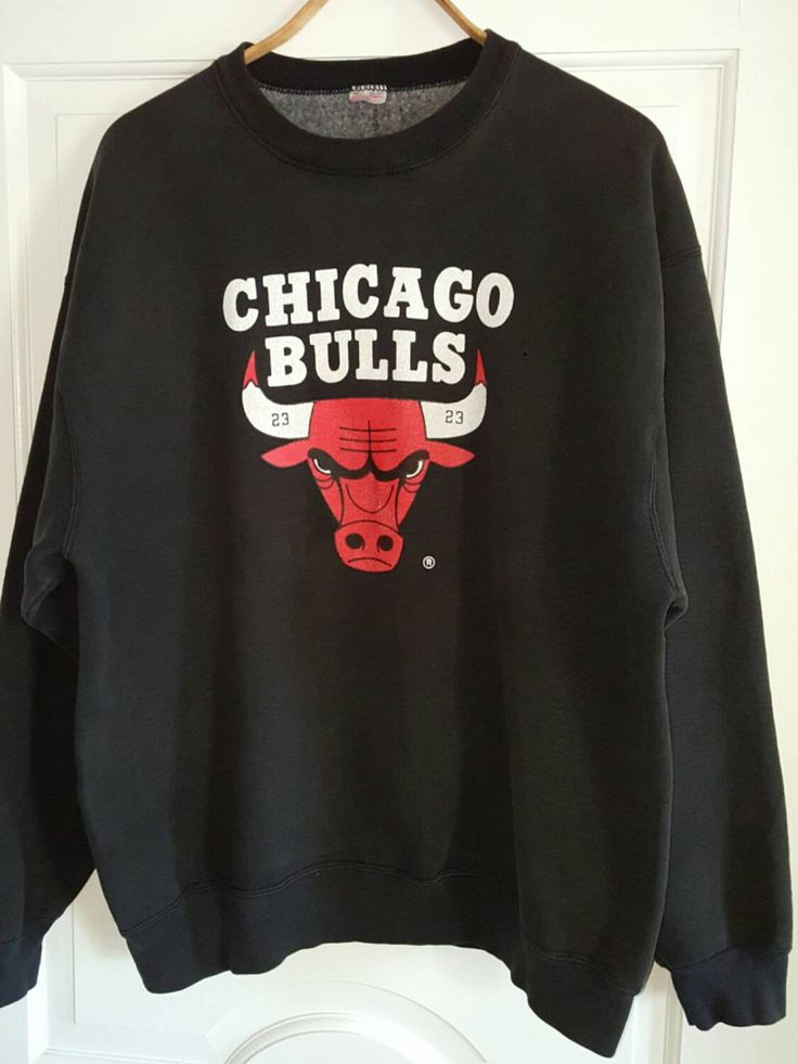Chicago Bulls Sweatshirt XL, Michael Jordan Bulls Shirt by ResouledGypsy on Etsy